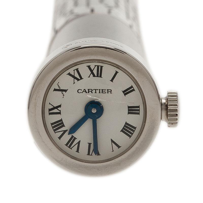 Cartier Perpetual Calendar Clock  Ballpoint Pen Limited Edition