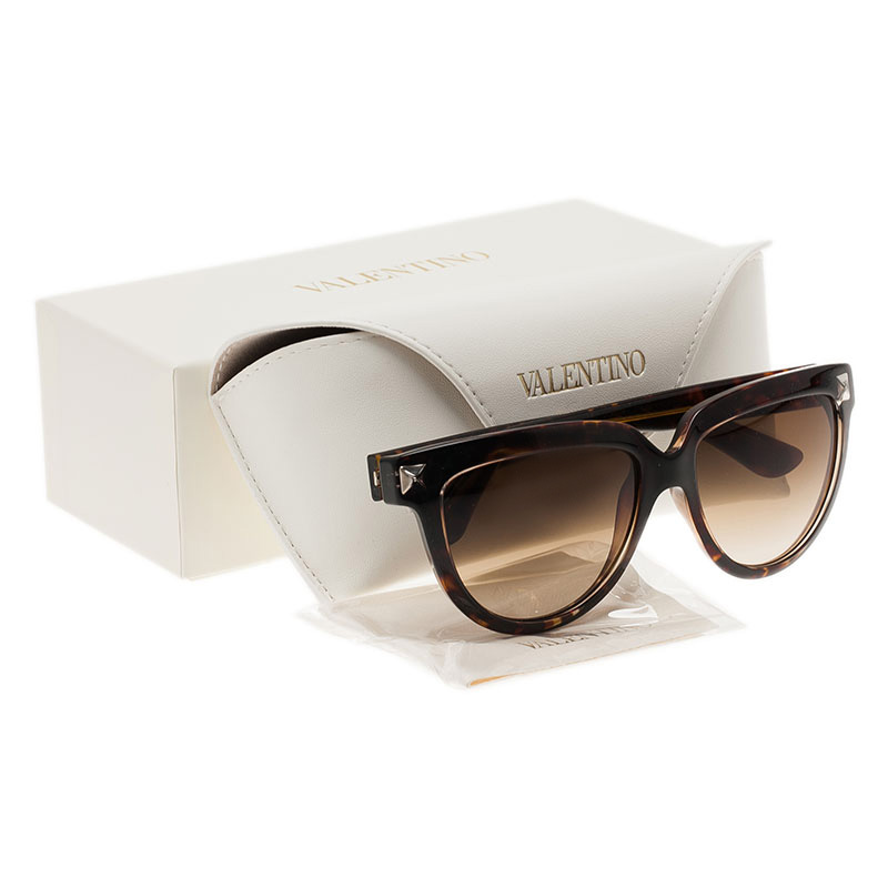 Valentino Tortoise Frame V724S Cat Eye Sunglasses
