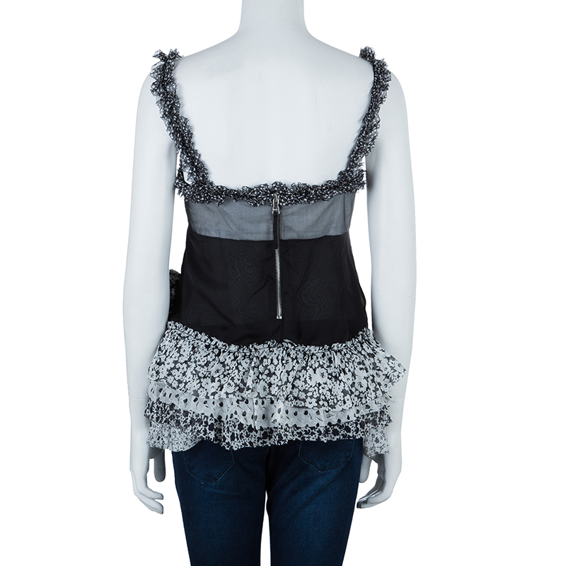 D&G Monochrome Tiered Top M
