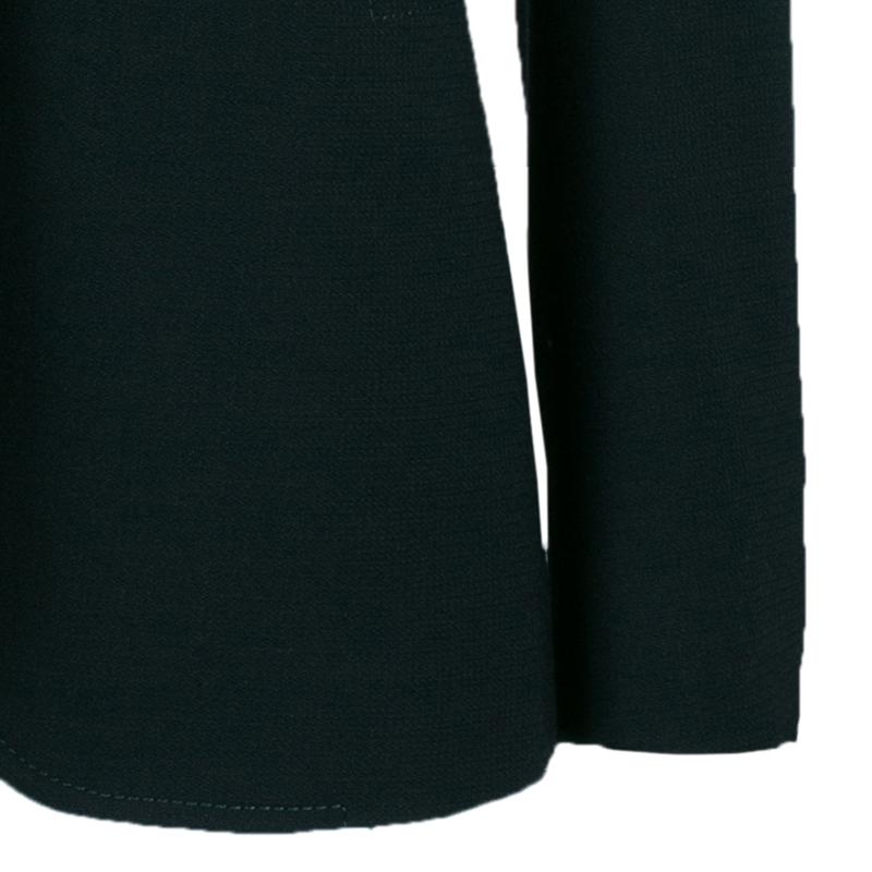 Gucci Black Wool Tailored Blazer M