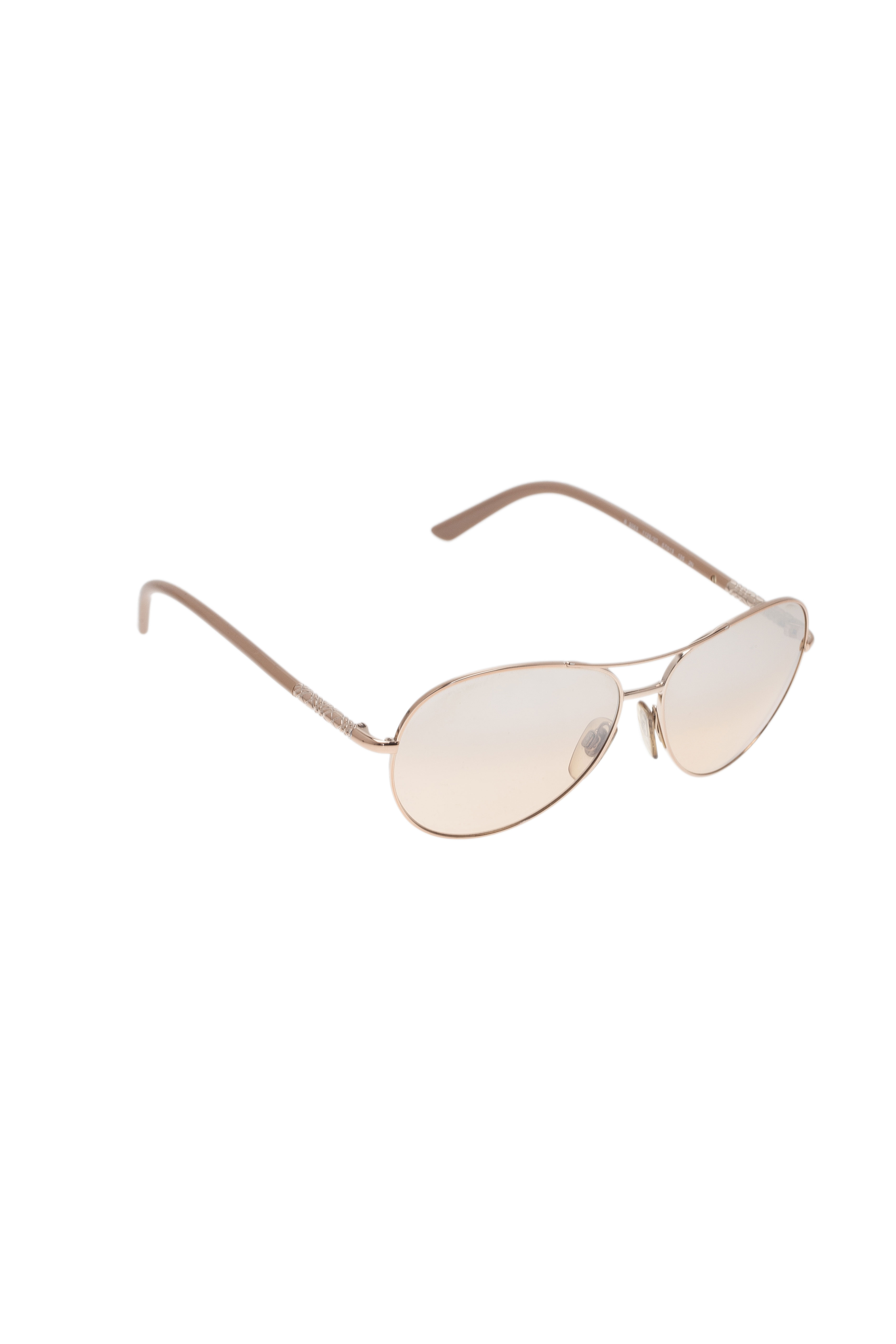 Burberry Gold 3053 Aviators