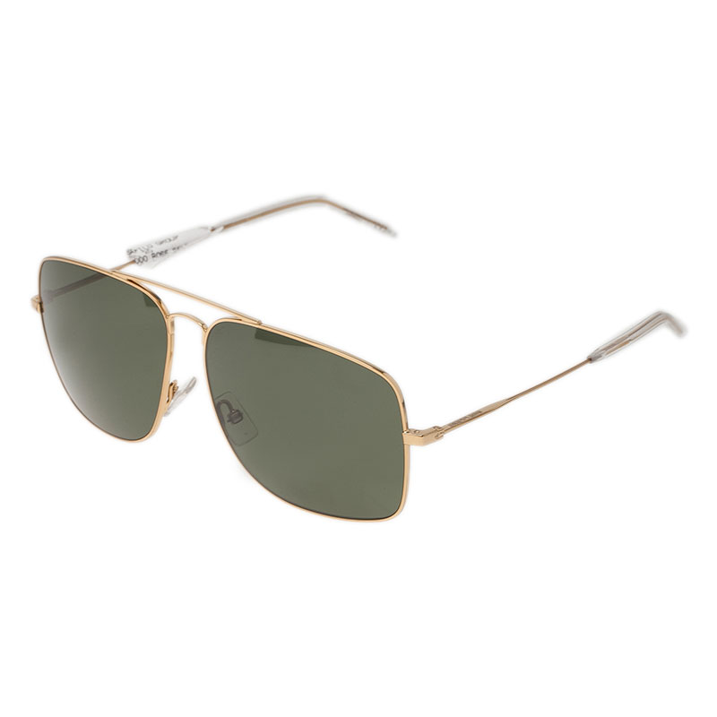 Saint Laurent Paris Gold SL 20 Aviators