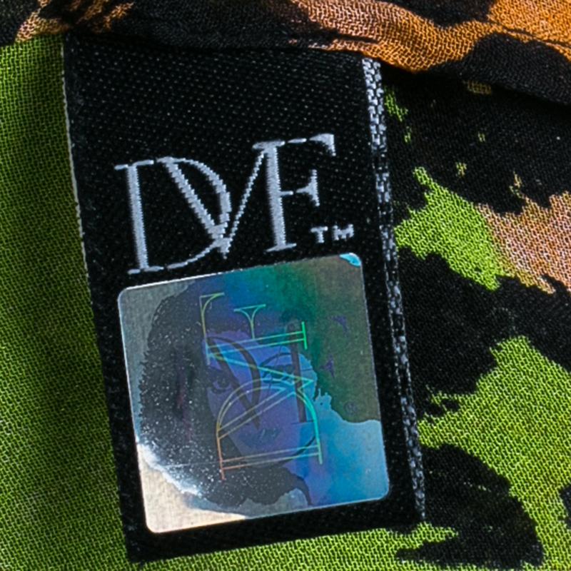 Diane von Furstenberg Multicolor Print Marroca Top M
