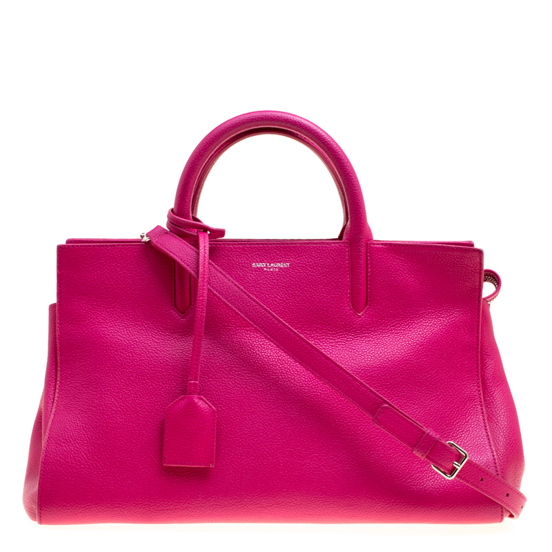 d7e3e3d08adbc ... Saint Laurent Hot Pink Leather Small Rive Gauche Bag. nextprev. prevnext
