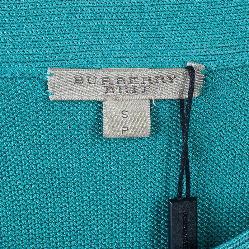 Burberry Brit Green and White Gradient Sweater S