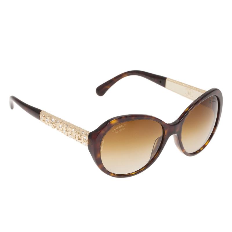 Chanel Square Frame Glasses : Chanel Tortoise Frame Bijoux Square Sunglasses - Buy ...