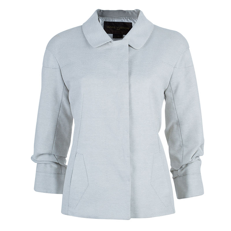 Louis Vuitton Off-White Mid Length Coat M
