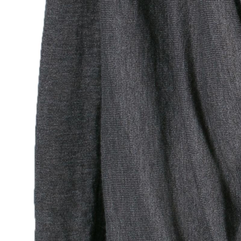 Alice + Olivia Drape Wrap Around Knit Cardigan XS