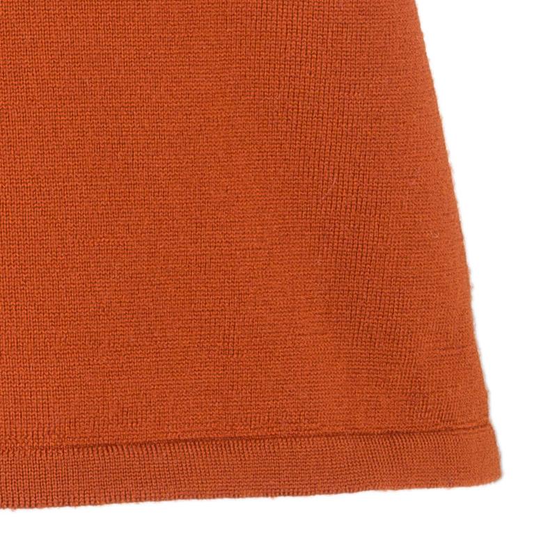 Philosophy by Alberta Ferretti Tangerine Wool Top M