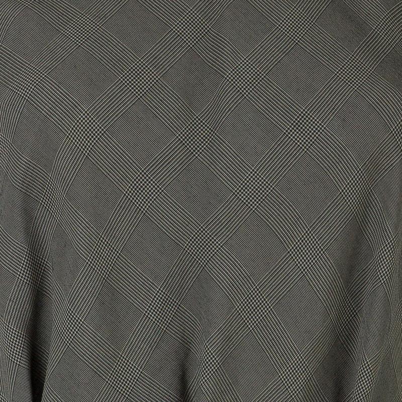 Kenzo Grey Houndstooth Sleeveless Top L