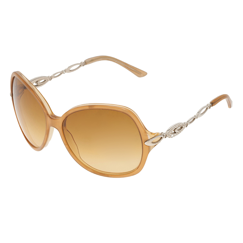 Bvlgari Brown 8036 Square Sunglasses