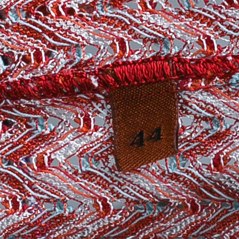 Missoni Mare Red Knit Jumpsuit M