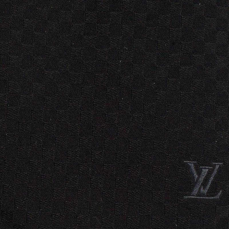 Louis Vuitton Black Petit Damier Tie