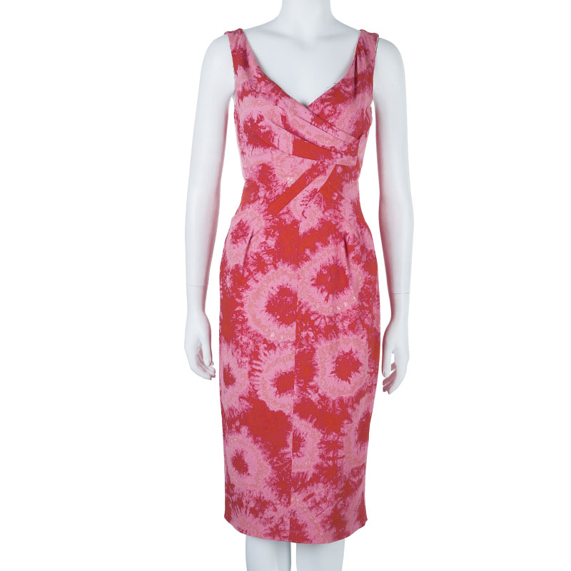 Michael Kors Pink Tie-dye Dress M