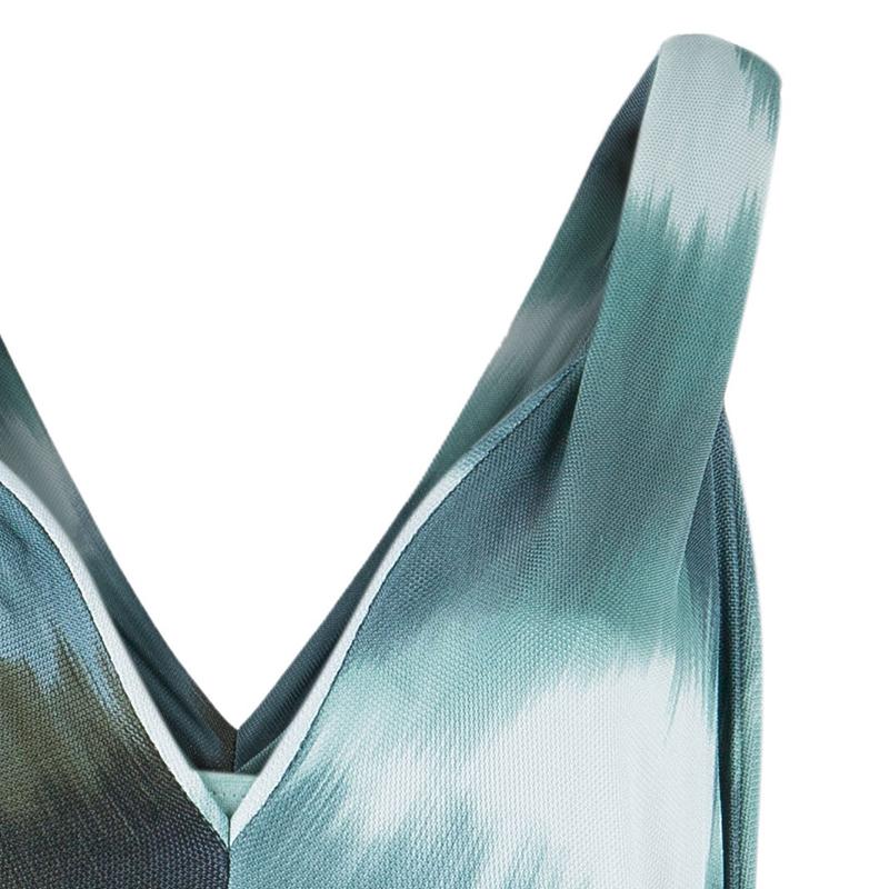 Diane von Furstenberg Multicolor Sleeveless Dress M