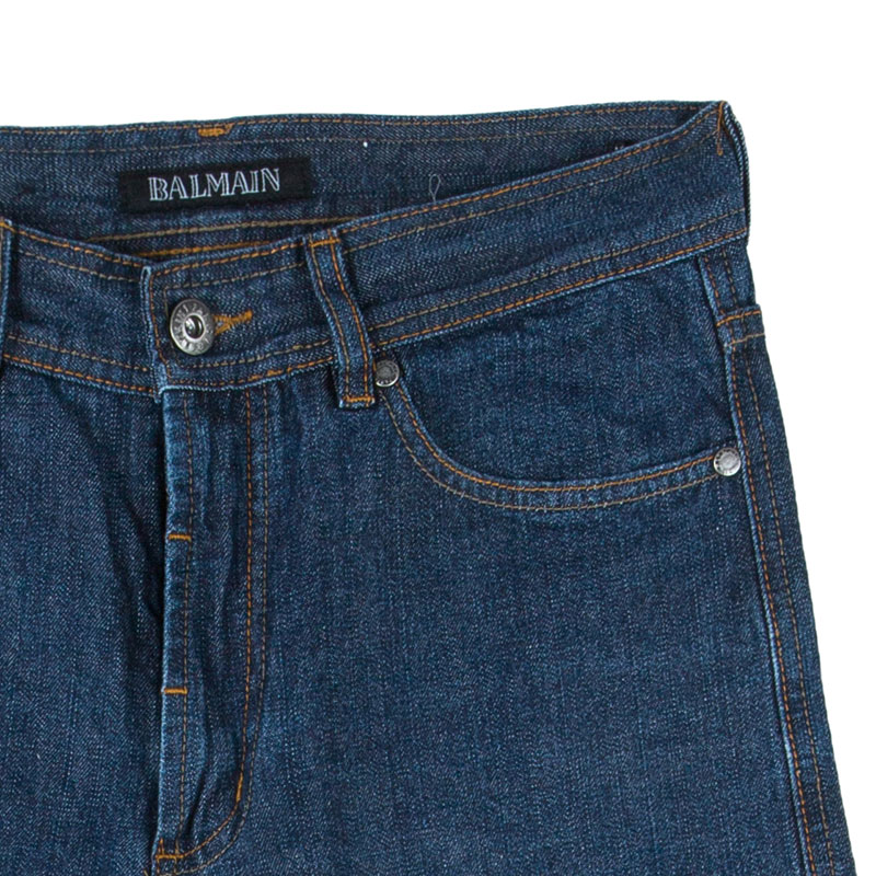 Balmain Men's Blue Denim Jeans M