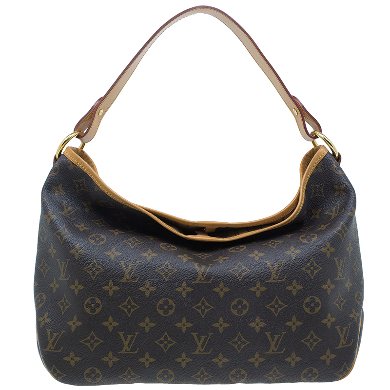 Louis Vuitton Monogram Canvas Delightful Hobo MM