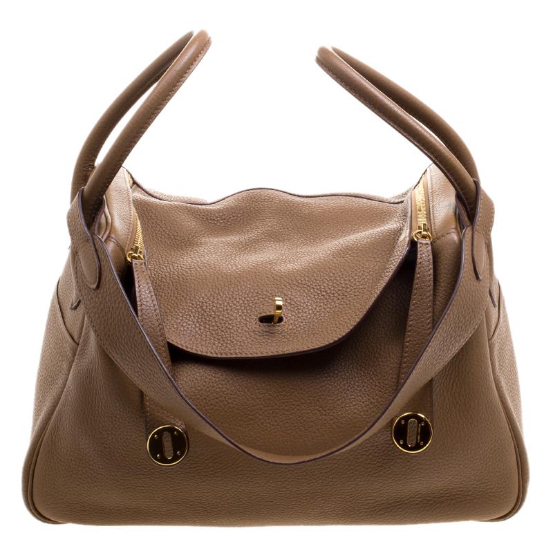 114f68f0db13 ... free shipping hermes kraft togo leather gold hardware lindy bag 30.  nextprev. prevnext 68263