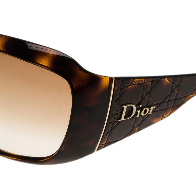 Dior Brown Cannage 1 Sunglasses