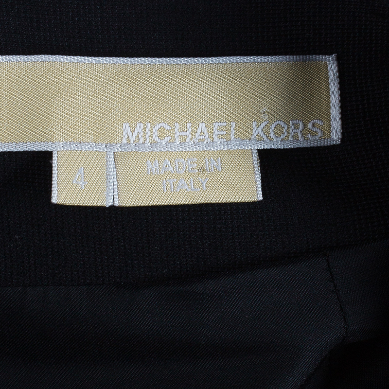 Michael Kors Black Shift Dress S