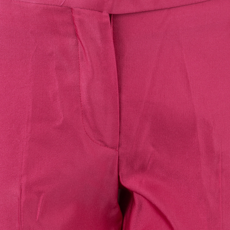 Prada Hot Pink Tapered Trousers S
