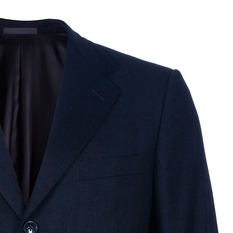 Ermenegildo Zegna Men's Black Trofeo Wool Suit M