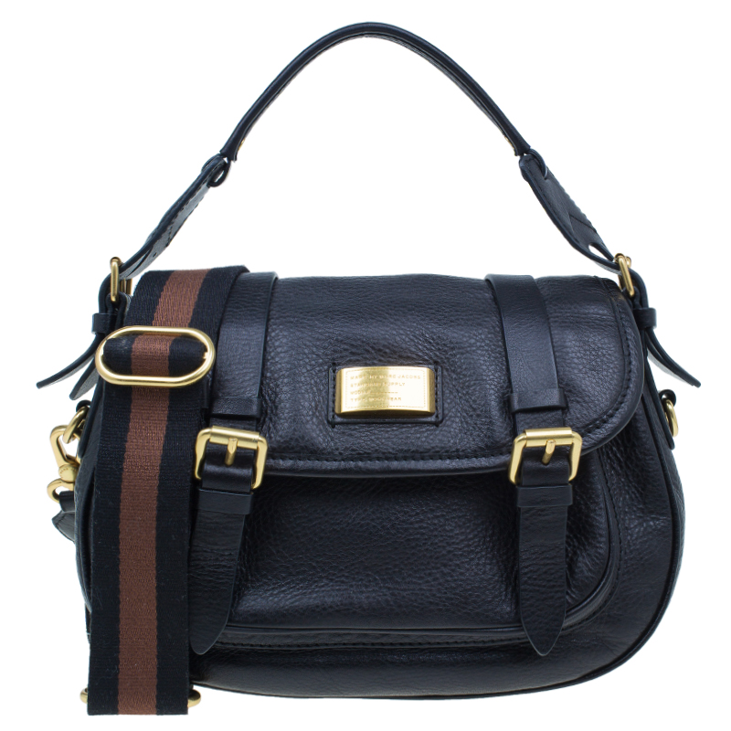 Marc by Marc Jacobs Black Leather Sophie Crossbody Bag