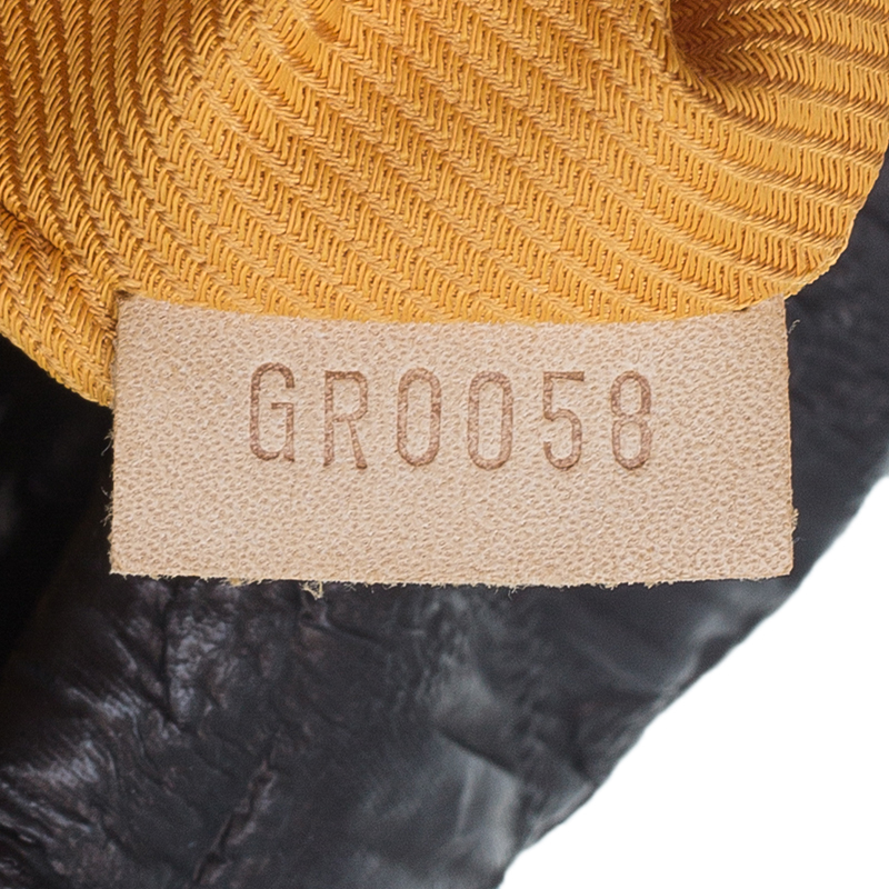 Louis Vuitton Metallic Brown Monogram Cowhide Leather Limelight Clutch GM