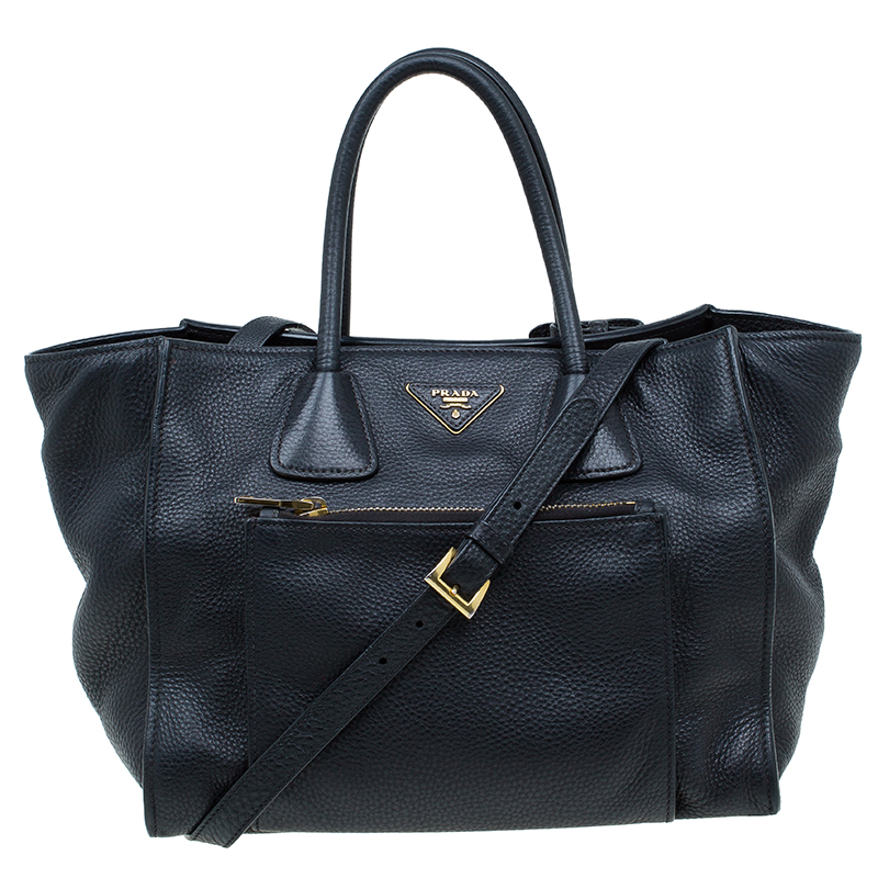 455e8b614412 wholesale prada black vitello phenix leather shopping tote. nextprev.  prevnext a27a5 46148
