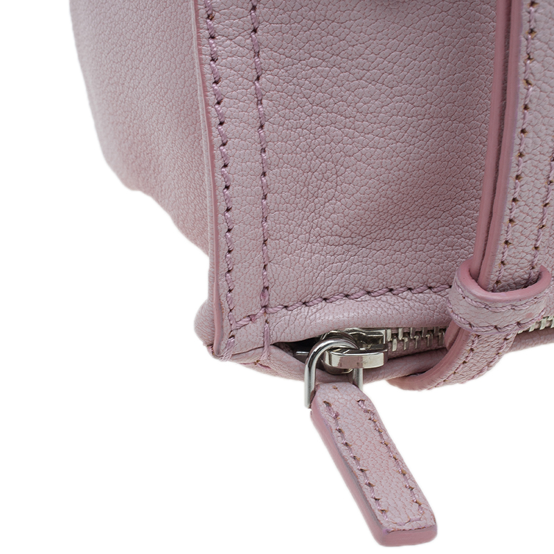 Givenchy Pink Leather Mini Pandora Pouch