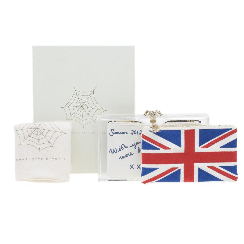 Charlotte Olympia's Limited Edition Diamond Jubilee Pandora Clutch