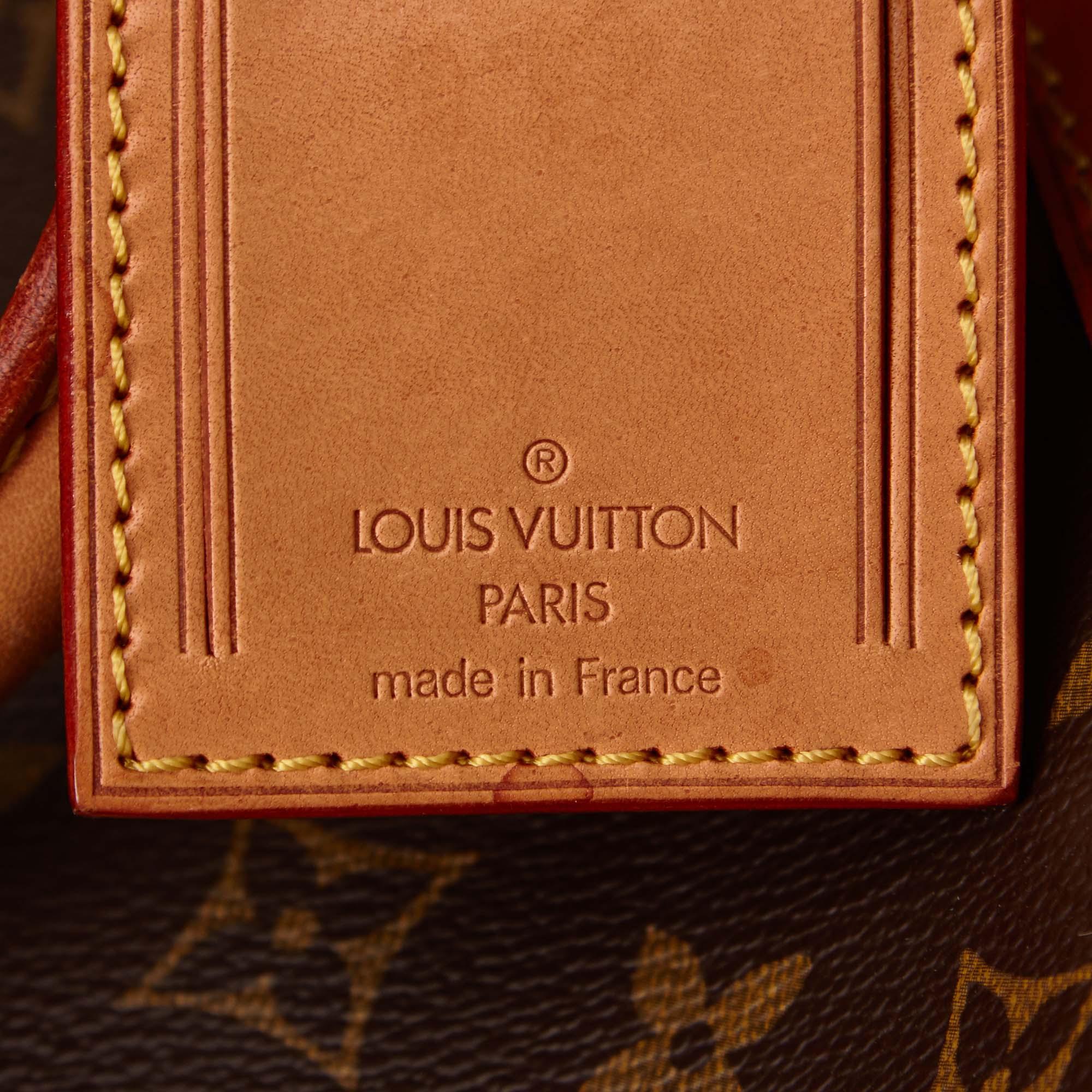 Louis Vuitton Monogram Canvas Keepall 60
