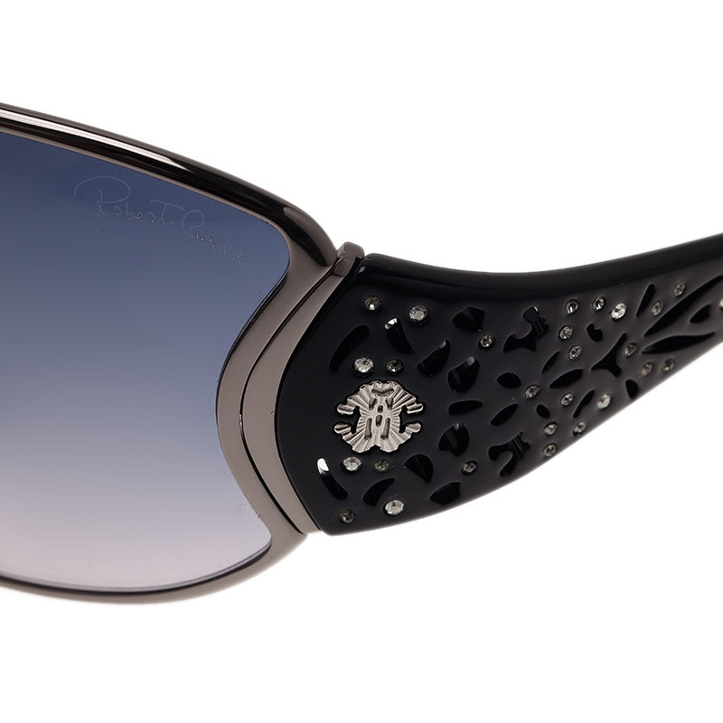 Roberto Cavalli Black ALCYOME Sunglasses