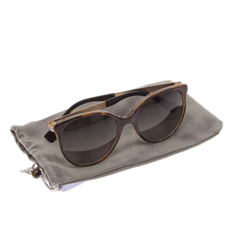 Fendi Tortoise Frame FF0078 Cat Eye Sunglasses
