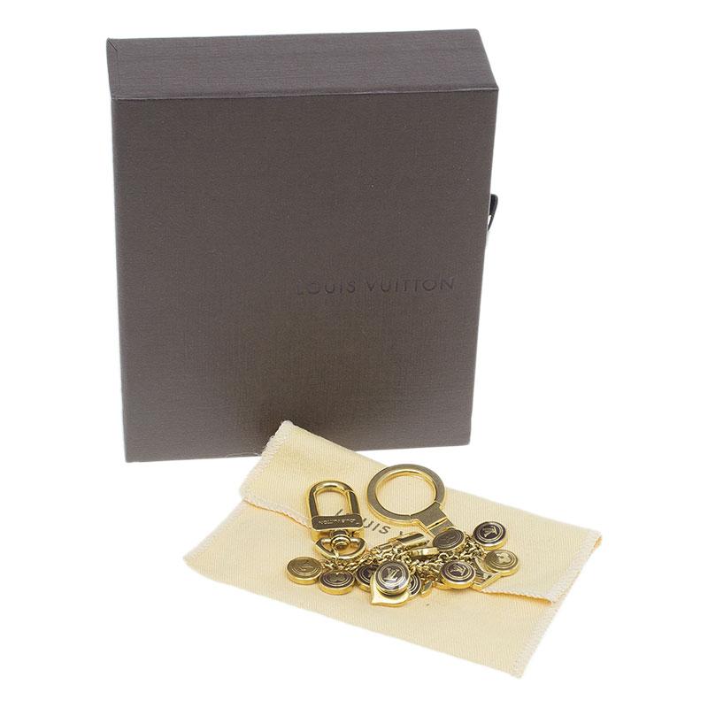 Louis Vuitton Gold Pastilles Bag Charm