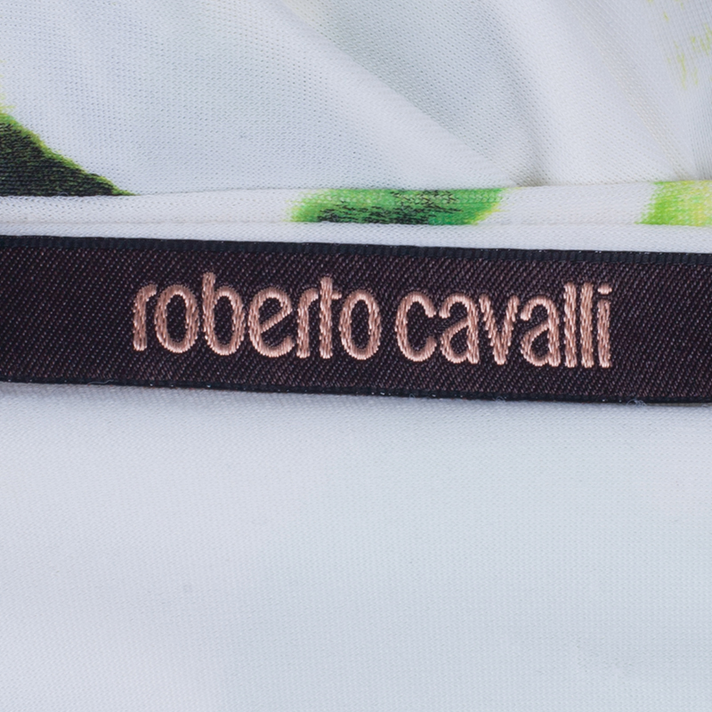 Roberto Cavalli Multicolor Sleeveless Top S