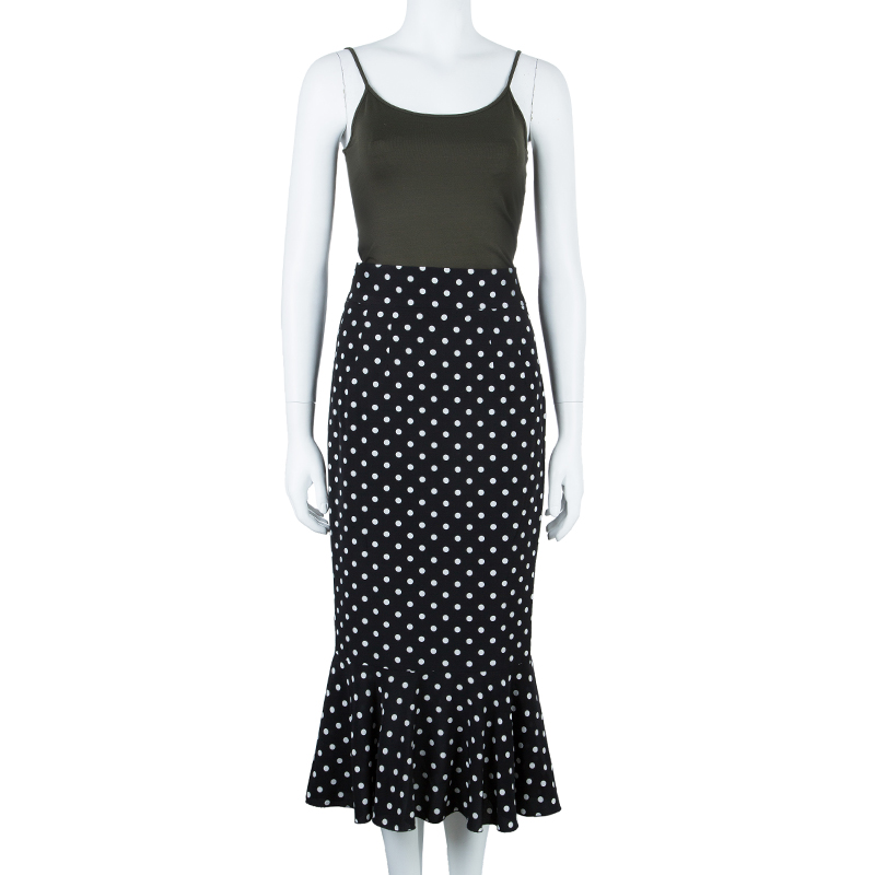 Dolce and Gabbana Dotted Skirt S