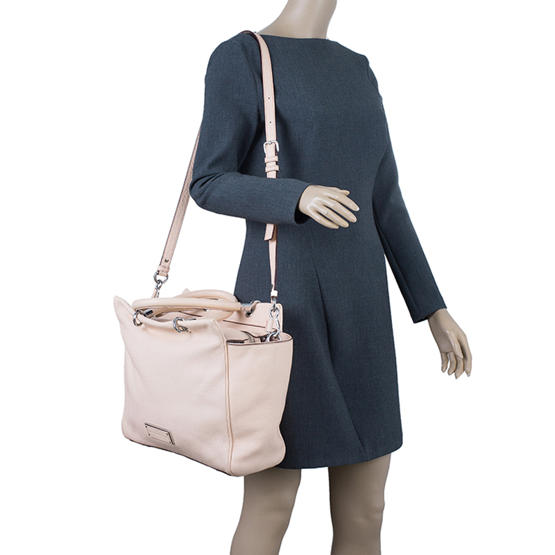 Marc by Marc Jacobs Nude Leather Bentley Too Hot To Handle Tote