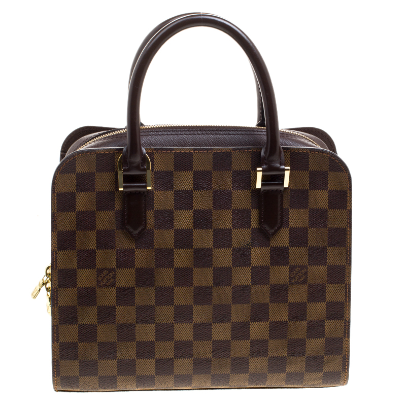 Louis Vuitton Damier Ebene Canvas Brera Bag Nextprev Prevnext