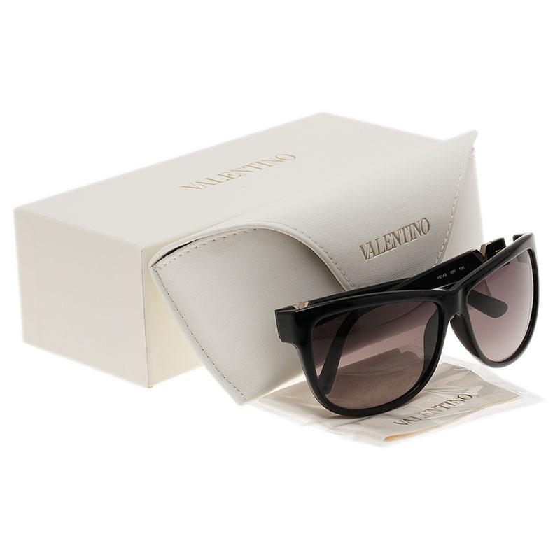 Valentino Black V614S Cat Eye Sunglasses