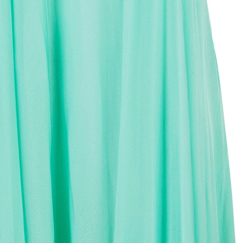 Celine Mint Sleeveless Jersey Dress L