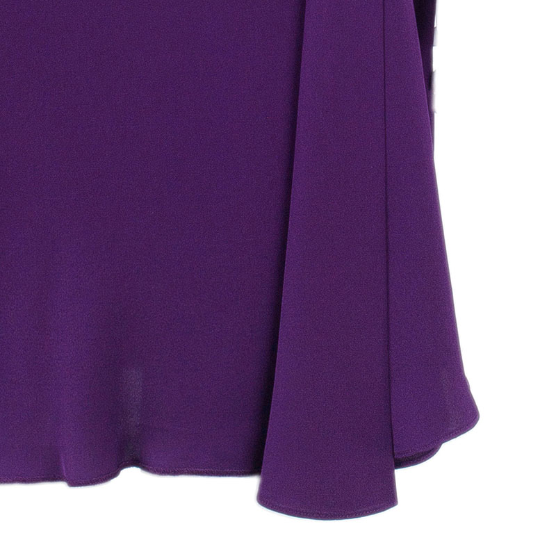 Diane Von Furstenberg Purple Bec Dress S
