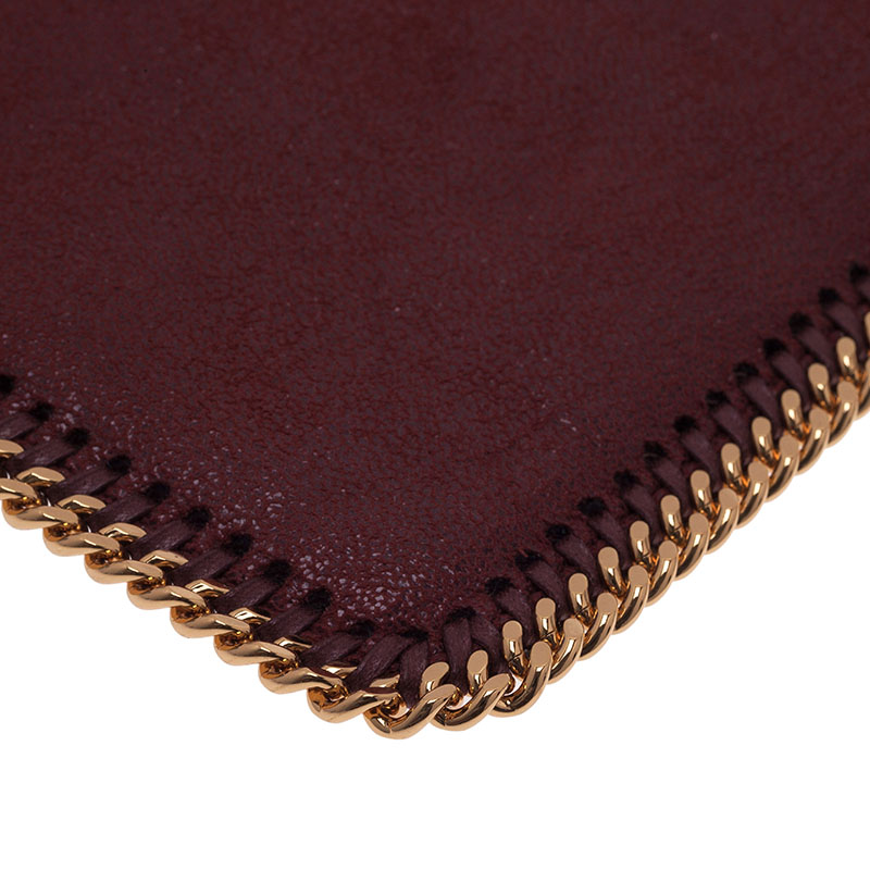 Stella McCartney Burgundy Fallabella iPad Case