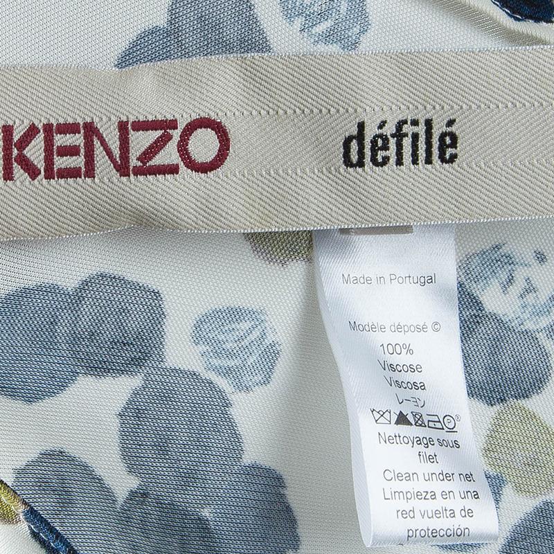 Kenzo Dot Printed Top L