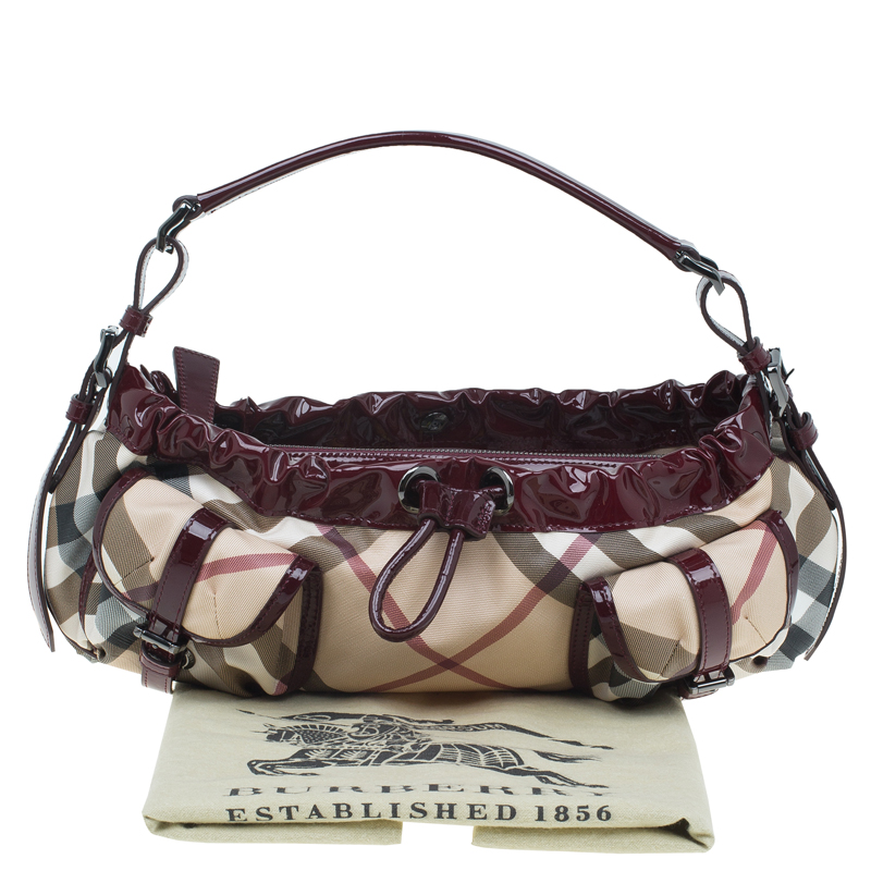 Cool Burberry Metallic Leather Soft Knots Sling Bag  Handbags  BUR44506