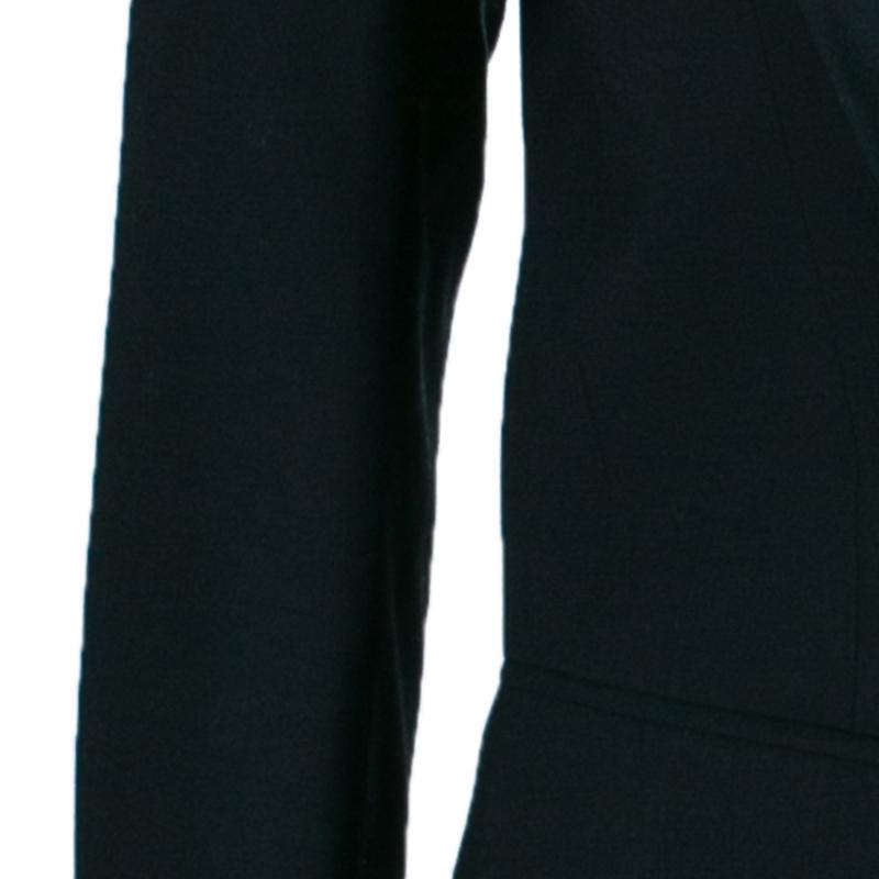 Balmain Black Single Breasted Blazer M