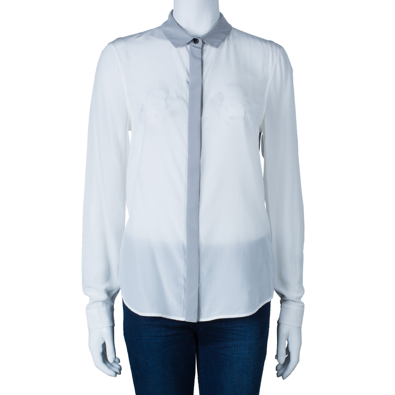 Burberry Two Tone Shirt M