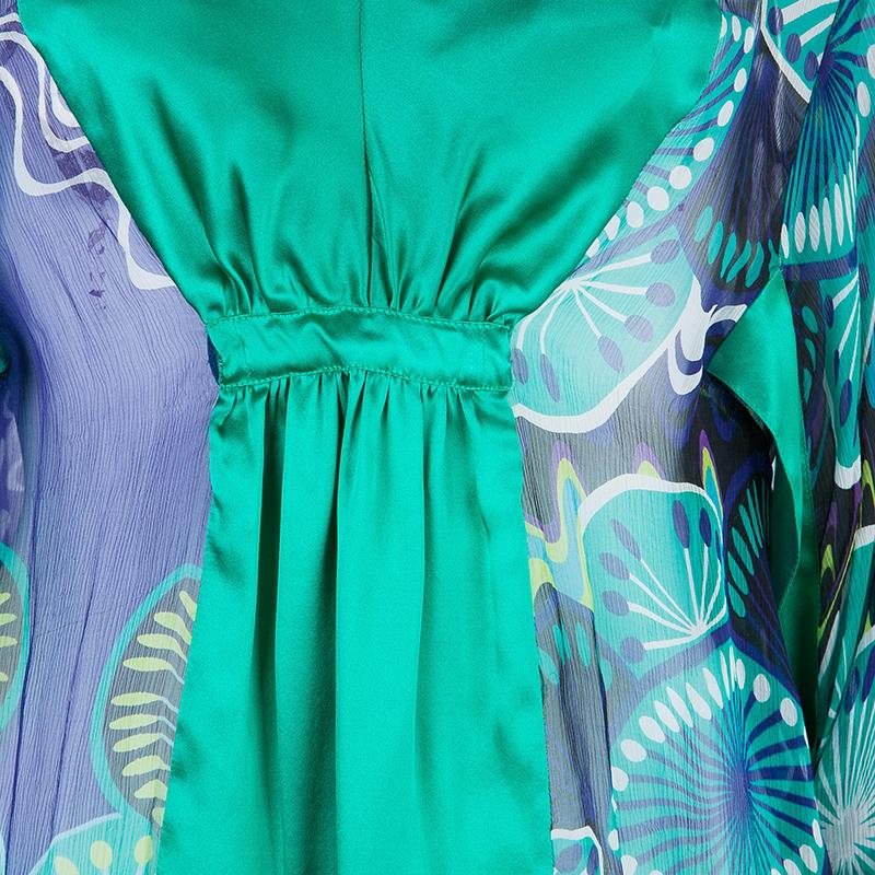 M Missoni Multicolor Contrast Panel Top M