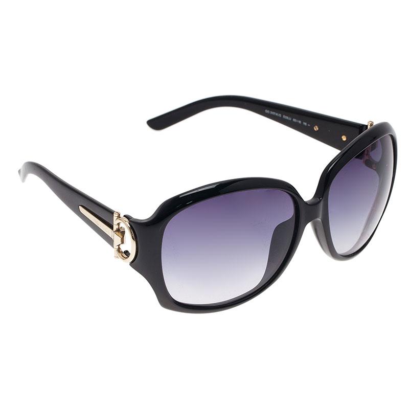 Gucci Black GG3117 Horsebit Square Sunglasses