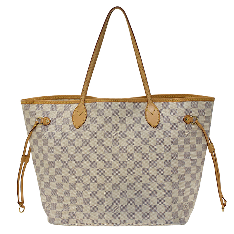 a6b5f3ab619b Louis Vuitton Damier Azur Canvas Neverfull MM Bag. nextprev. prevnext